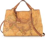 Alviero Martini Geo Printed Large 'Contemporary' Handbag