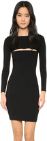 Alexander Wang Needle Knit Bandeau Dress