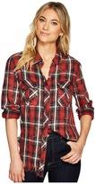 Hudson Bijou Button Up Shirt Women's Long Sleeve Button Up