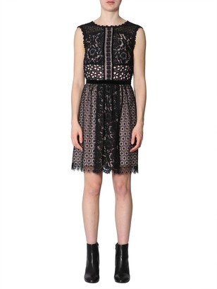 Boutique Moschino Sleeveless Lace Dress