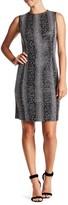 T Tahari Carolina Sleeveless Bodycon Dress