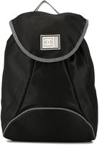 Chanel Pre Owned Sports Line logo printed backpack