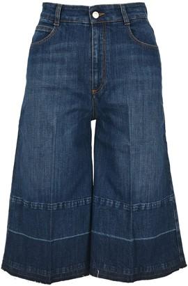Stella McCartney Cropped Culotte Jeans
