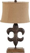 A&B Home Fleur-de-Lis Lamp