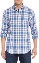 Vineyard Vines Men's 'Murray - Lawrence Pond Plaid' Classic Fit Plaid Sport Shirt