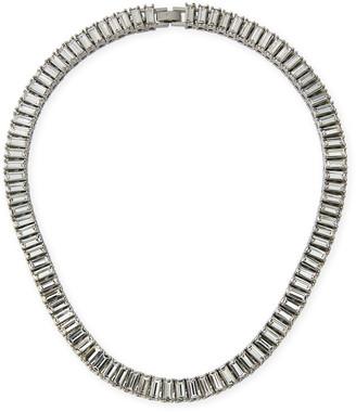 Fallon Swag Baguette Collar Necklace