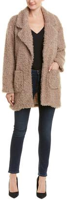 Lavender Brown Curly Jacket