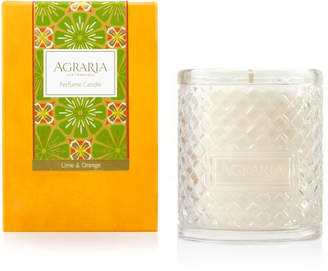 Agraria Lime & Orange Blossoms Woven Crystal Perfume Candle, 7 oz.