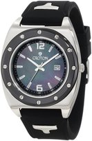 Croton Men's Advocate Mop Dial Rubber Watch CA301214BSSS