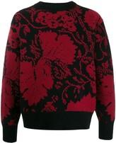 Salvatore Ferragamo Jacquard Motif Sweater
