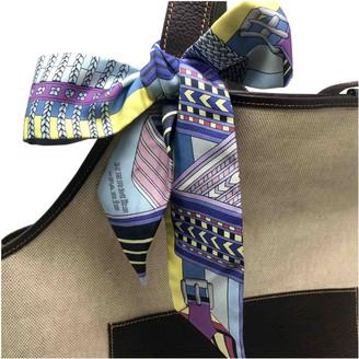 Hermes Twilly 86 Multicolour Silk Scarves