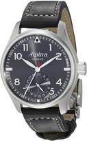 Alpina Men's AL-710G4S6 Startimer Pilot Manufacture Analog Display Automatic Self Wind Black Watch