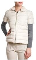 Eleventy Women's Beige Polyester Down Jacket.