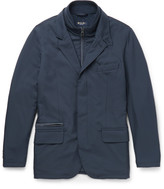 Loro Piana - New Roadster Suede-trimmed Shell Jacket