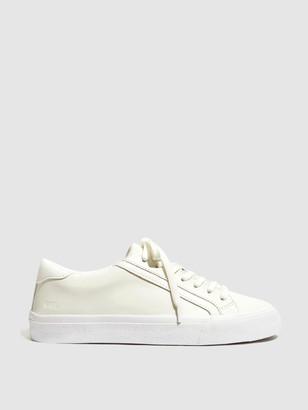 Madewell Sidewalk Low Top Leather Sneakers