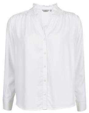 Dorothy Perkins Womens Petite Ivory Twill Shirt