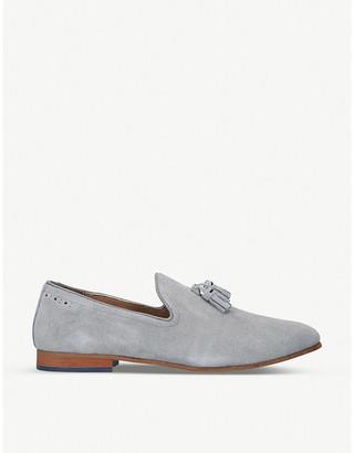 Selfridges Orvel tassel-detail suede loafers