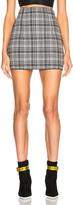 Off-White Zip Back Mini Skirt