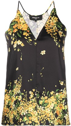 Paule Ka Floral Camisole Top