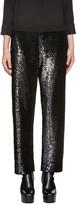 Ashish SSENSE Exclusive Black Sequin Lounge Pants