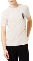 Topman Men's Skeleton Badge T-Shirt