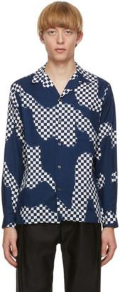 Blue Blue Japan Blue Cotton Check Shirt