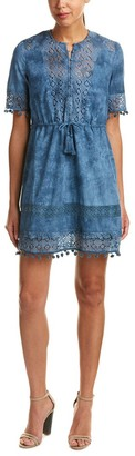 French Connection Women's Florence Lace Short Sleeve Dress