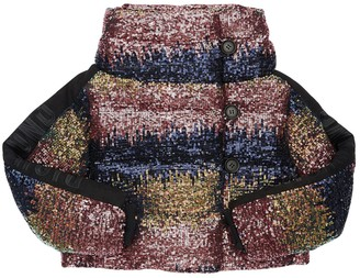 John Richmond Sequined Down Jacket