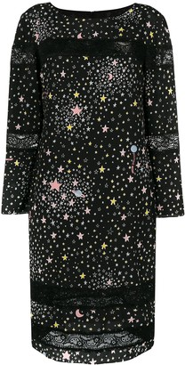 Moschino star print dress