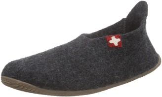 Living Kitzbühel Schweizer Kreuz Mens Open Back Slippers