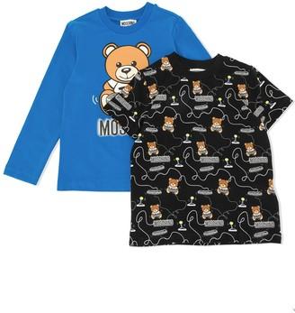 MOSCHINO BAMBINO Teddy Bear long-sleeve T-shirt