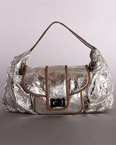 Treesje Silver Distressed Bag