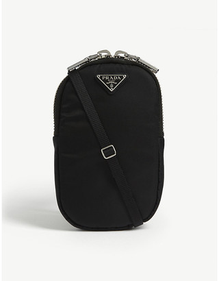 Prada Nylon phone cross-body pouch