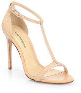 Python T-Strap Sandals