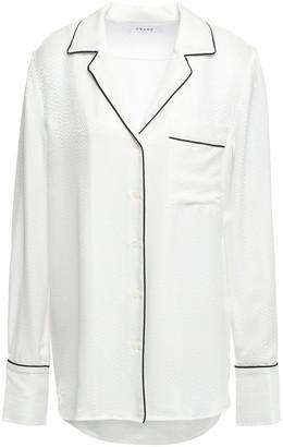 Frame Satin-jacquard Shirt