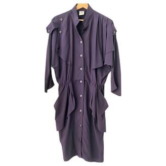 Non Signã© / Unsigned Oversize Purple Cotton Dresses