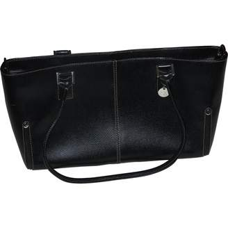 N. Non Signé / Unsigned Non Signe / Unsigned \N Black Leather Handbags