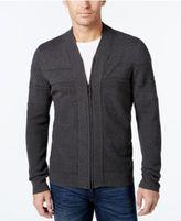 Alfani Men's Big and Tall Full-Zip Shawl Collar Cardigan Sweater