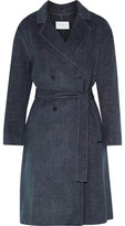 Sandro Hampton Belted Wool-Blend Coat