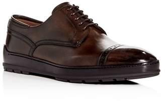 Bally Men's Reigan Leather Cap-Toe Oxfords