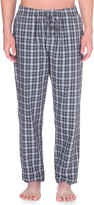 Hanro Paolo Check Cotton Long Trousers