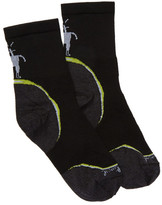 Smartwool PhD Running Ultra Light 3/4 Crew Socks - Large