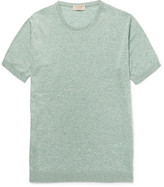 John Smedley - Stonewell Slim-fit Sea Island Cotton And Cashmere-blend T-shirt