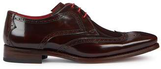 Jeffery West Hunger Burgundy Leather Brogues