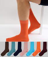 Asos Socks In Tonal Colours 7 Pack