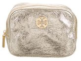 Tory Burch Metallic Cosmetic Bag