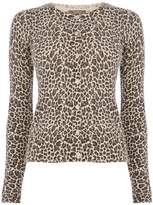 Oasis Animal Print Angel Crew Cardi