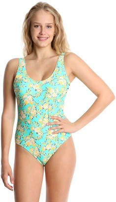 Wallflower Scoop-Neck One Piece With Side Bows- Kimmi