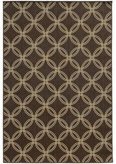 StyleHaven Seacrest Interlocking Circles Geometric Indoor/Outdoor Area Rug