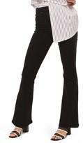 Topshop Women's Jamie High Waist Flare Jeans